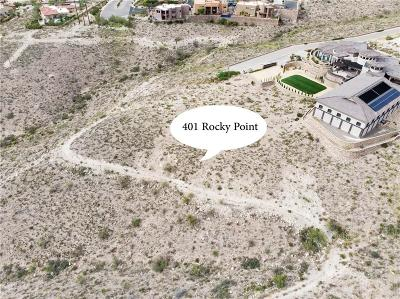 El Paso Single Family Home For Sale: 401 Rocky Point Drive