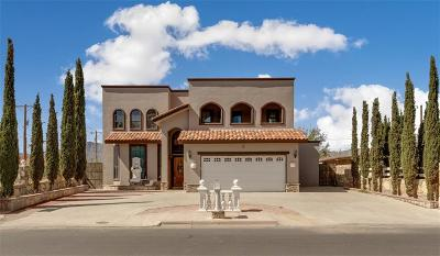 El Paso Single Family Home For Sale: 9951 McCombs Street