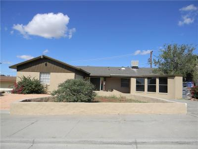 El Paso Single Family Home For Sale: 305 Coral Hills Road