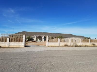 El Paso Single Family Home For Sale: 4921 Indian Wells Drive