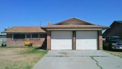 El Paso TX Single Family Home For Sale: $82,950