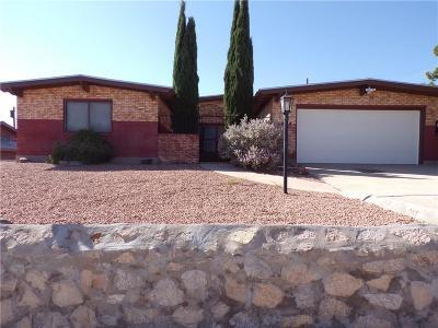 El Paso Single Family Home For Sale: 3404 Lankmoore Avenue