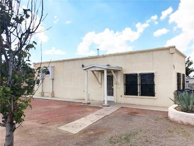 El Paso Single Family Home For Sale: 7912 Loop Drive