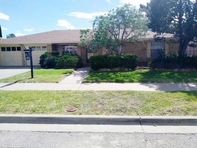 El Paso Single Family Home For Sale: 6940 Oveja Avenue