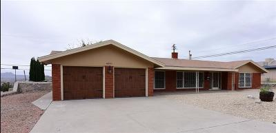 El Paso Single Family Home For Sale: 4851 Los Reales Drive