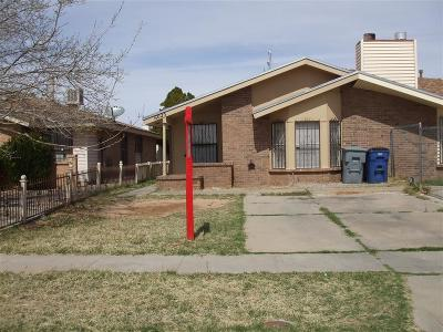 El Paso Single Family Home For Sale: 6025 Bridalveil Drive