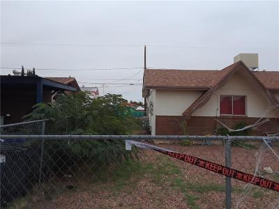 El Paso Single Family Home For Sale: 5636 Hemmingway Drive