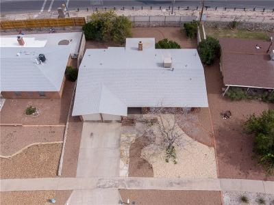 El Paso TX Single Family Home For Sale: $145,000