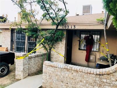 El Paso TX Single Family Home For Sale: $69,999