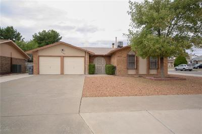 El Paso TX Single Family Home For Sale: $112,000