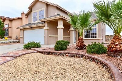 Horizon City Single Family Home For Sale: 12288 Gentry Way