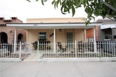 El Paso TX Single Family Home For Sale: $69,900