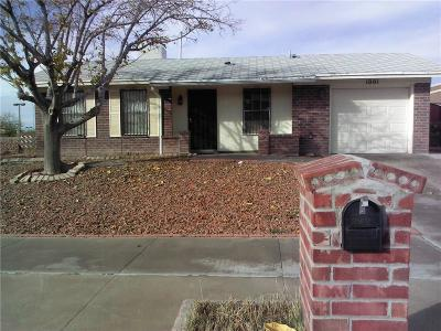 El Paso Single Family Home For Sale: 1001 Quinault Drive