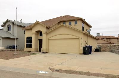 El Paso TX Single Family Home For Sale: $139,000
