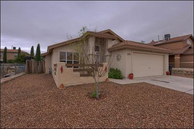 Horizon City Single Family Home For Sale: 477 Winter Spring Place