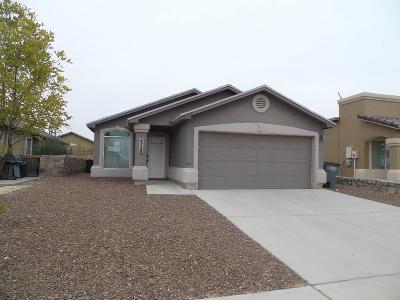El Paso Single Family Home For Sale: 4728 Kiko A Fierro Place