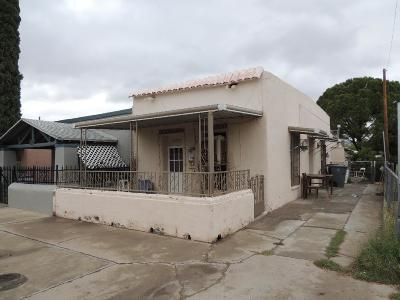 El Paso TX Single Family Home For Sale: $47,000