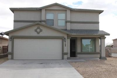 El Paso Single Family Home For Sale: 6100 Faust Wardy Court