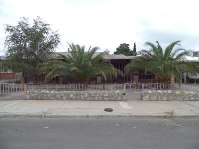 El Paso TX Single Family Home For Sale: $56,000