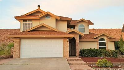 El Paso TX Single Family Home For Sale: $159,900