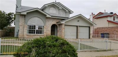 El Paso TX Single Family Home For Sale: $112,100