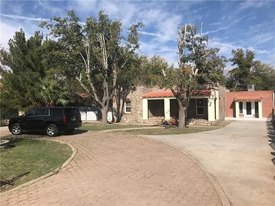 El Paso Single Family Home For Sale: 4118 Emory Road