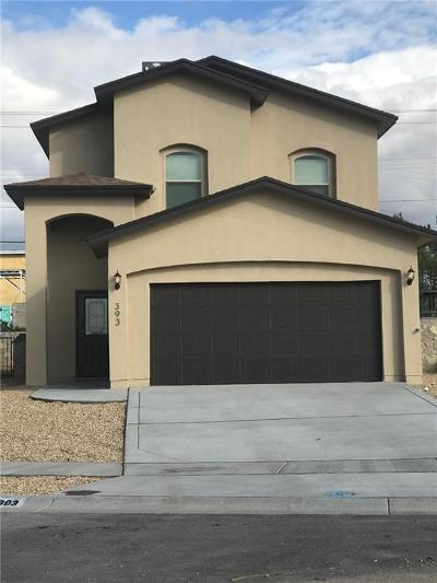 El Paso Single Family Home For Sale: 6076 Rivet Place
