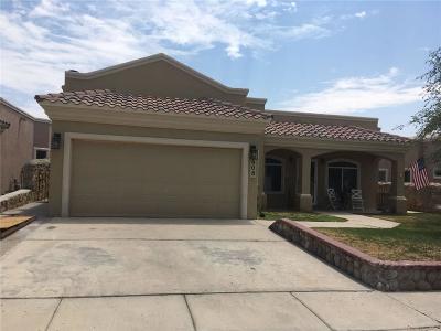 Horizon City Single Family Home For Sale: 608 Paseo Sereno Drive