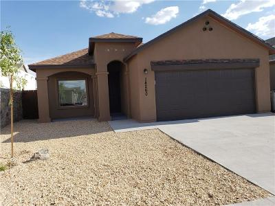 El Paso TX Single Family Home For Sale: $129,770