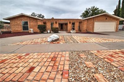 El Paso Single Family Home For Sale: 1819 Jack Nicklaus Drive
