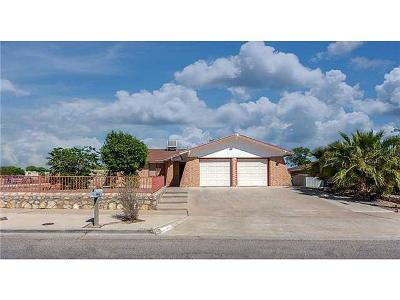 Single Family Home For Sale: 1640 Billie Marie Drive
