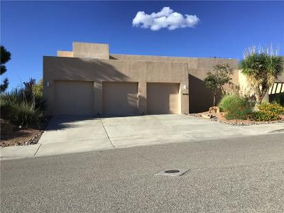 El Paso Single Family Home For Sale: 5448 Cactus Hill Drive