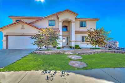 El Paso Single Family Home For Sale: 3505 Tierra Amanda