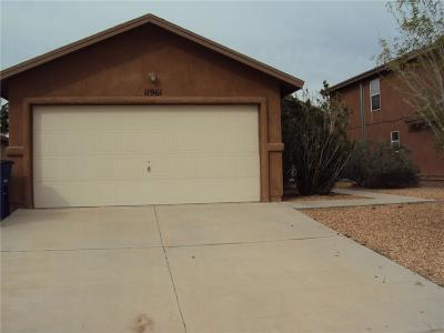 Single Family Home For Sale: 11961 Mesquite Rock Drive