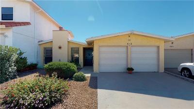 Single Family Home For Sale: 712 Espada Drive #B