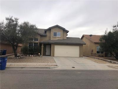 El Paso Single Family Home For Sale: 843 Sun City Park Court