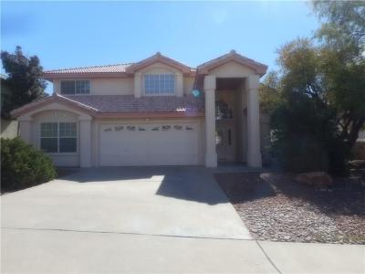 El Paso Single Family Home For Sale: 6316 La Posta Drive