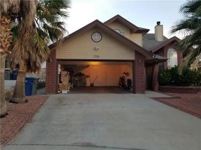 Vista Hills Single Family Home For Sale: 1758 Castle Gate Way