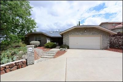El Paso Single Family Home For Sale: 5845 Los Cerritos Drive