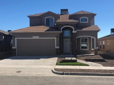 El Paso Single Family Home For Sale: 432 Prime Desert Drive