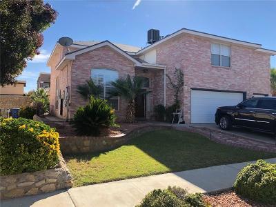 El Paso Single Family Home For Sale: 12640 Sun Terrace Avenue