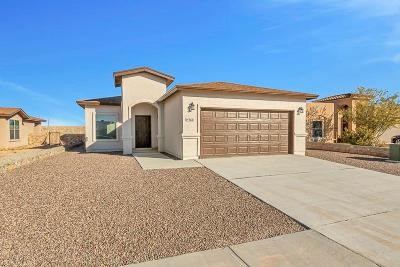Horizon City Single Family Home For Sale: 14760 Canyon Breeze Lane