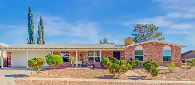 El Paso Single Family Home For Sale: 6423 Belton Road