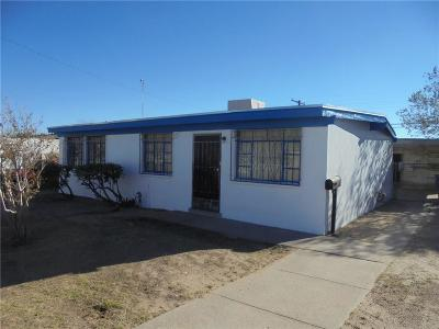 El Paso Single Family Home For Sale: 6208 Taos Drive