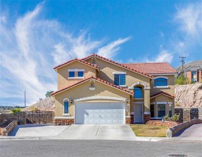 El Paso Single Family Home For Sale: 4261 Tarek Lane