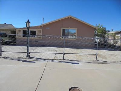 El Paso Single Family Home For Sale: 6320 Normandy