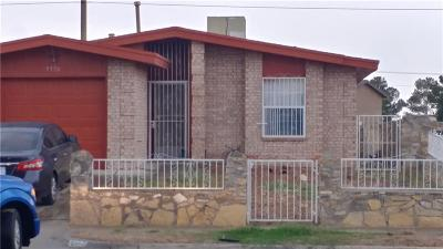El Paso Single Family Home For Sale: 9370 Richardson Drive