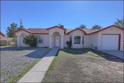 San Elizario Single Family Home For Sale: 1348 Ranchero Court