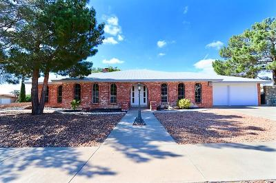 El Paso Single Family Home For Sale: 6721 Westwind Drive