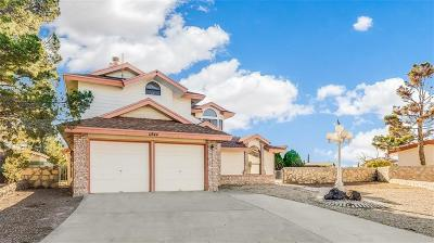 El Paso Single Family Home For Sale: 11844 Emily Court